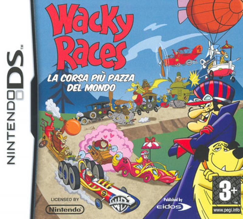Ds wacky races newwave games s r l