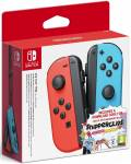 NINTENDO SWITCH COPPIA 2 CONTROLLER BLU ROSSO + SN