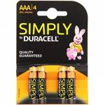 DURACELL SIMPLY MINI STILO AAA 4