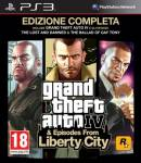 PS3 GTA IV EDIZIONE COMPLETA LIBERY CITY
