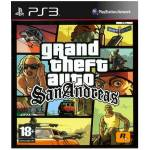 PS3 GRAND THEFT AUTO SAN ANDREAS