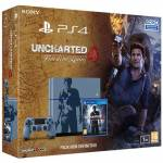 PS4 1TB + UNCHARTED 4 LIMITED ED.