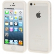 IPHONE 5 BUMPER TRASLUCENTE WHITE