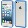 IPHONE 5 BUMPER TRASLUCENTE BLUE