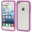 IPHONE 5 BUMPER TRASLUCENTE PURPLE