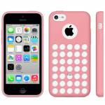 IPHONE 5C CASE TRAFORATO ROSA