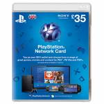 PSN LIVE CARD 35 EURO SONY