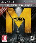 PS3 METRO LAST LIGHT LIMITED EDITION