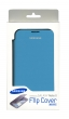 GALAXY NOTE 2 FLIP COVER AZZURRA